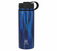 NEW Gaiam 18 Oz. Stainless Steel Water Bottle for Hot or Cold Drinks NWT image 10