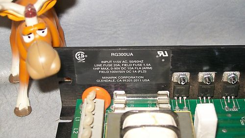 Minarik DC Drive 1HP RG300UA 115V AC 50/60HZ