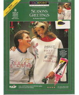 Colorpoint Paintstitching 91287  Seasons Greetings Transfer - $2.00