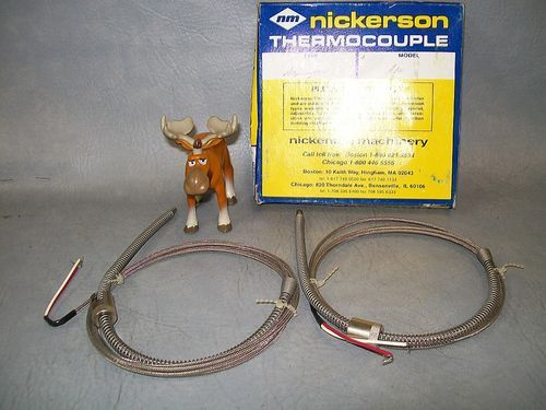 Nickerson Thermocouple A84 Lot of 2