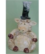 Ceramic Bell, Lamb, Apple Tree Designs - $15.00