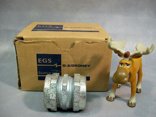 "O-Z / Gedney 1"" Compression Couplings Lot of 5"