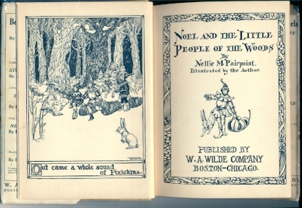 1921 Noel and the Little People of the Woods-Pairpoint Illus