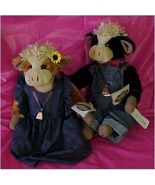 Clarence and Clara Mae, Cottage Collectibles, Ganz - $60.00