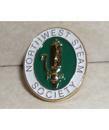 Seattle Northwest Steam Society Collectible Lapel Pin - $6.85