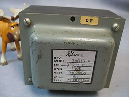 Robotron 3AO1D-A Model Transformer 230 / 460v - $70.17