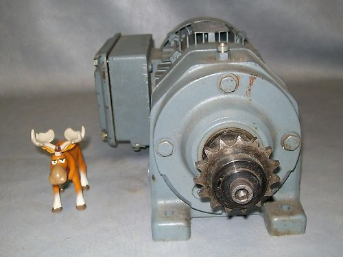 SEW Eurodrive Motor  R43 DT71C4TF 1700:24 rpm 3 Phase