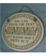 Ceramic Wall Plaque, Spooner Creek, Dust - $16.00