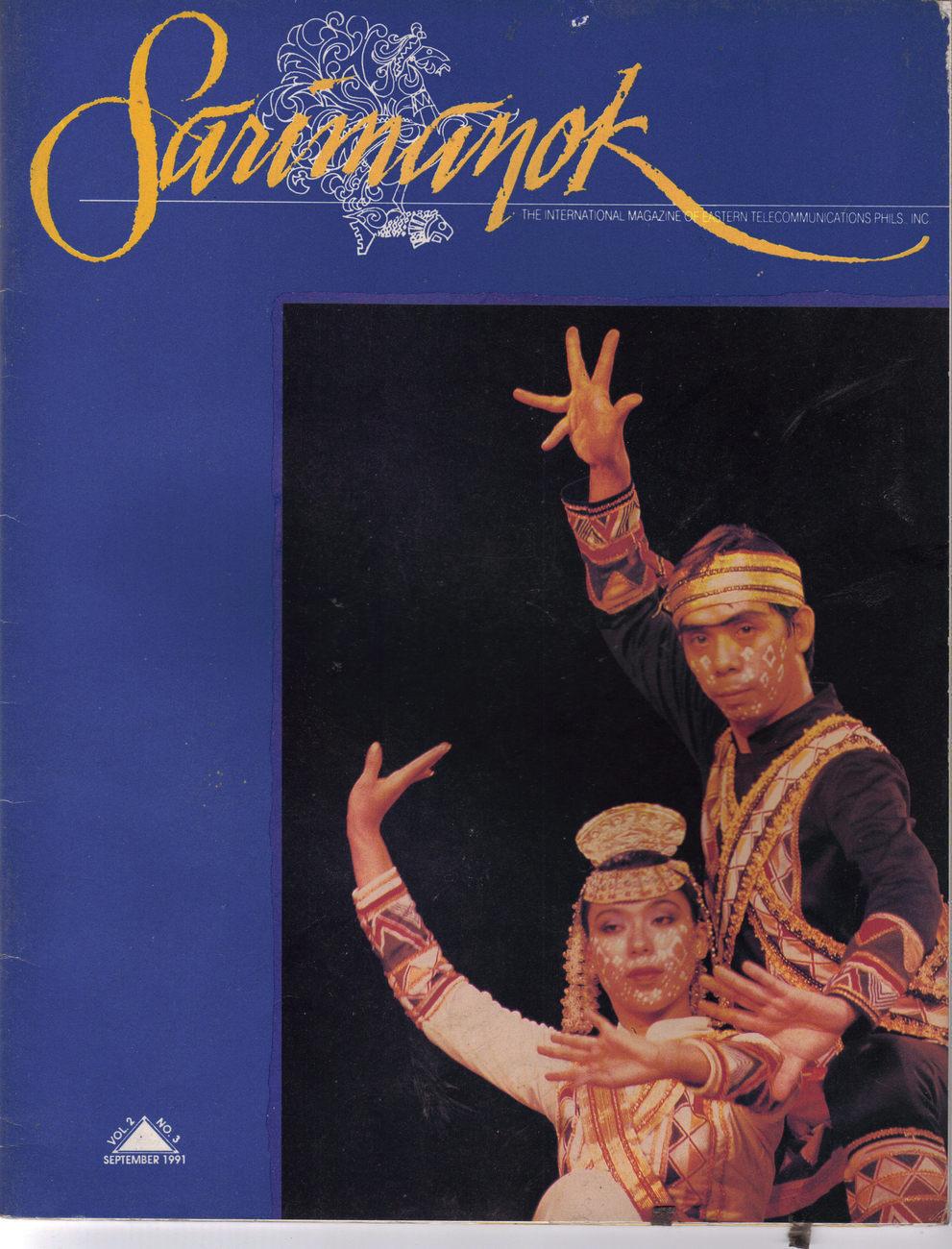 Philippine Magazine SARIMANOK: PANGALAY by the Bayahihan Philippine Dance Co.