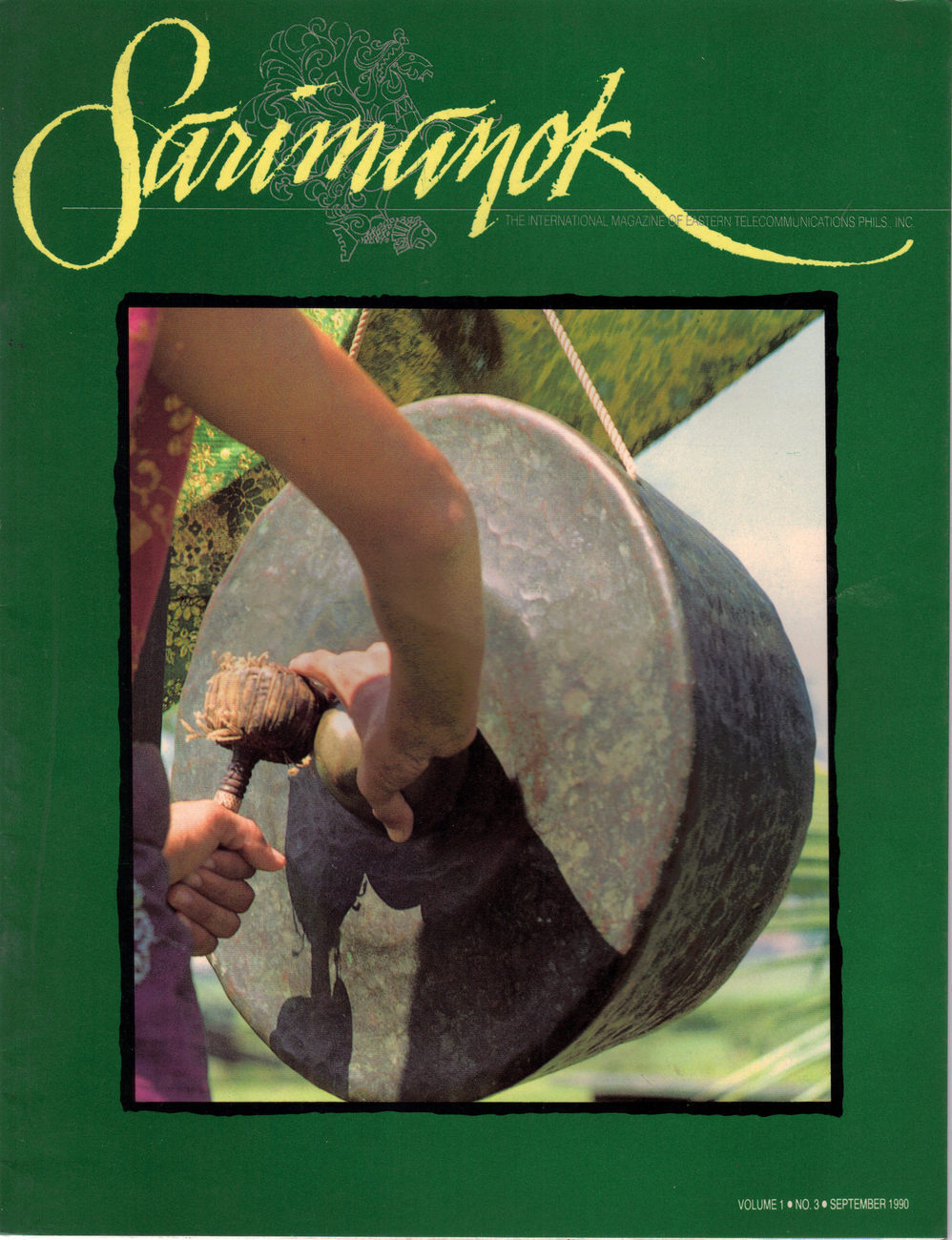 Philippine Magazine: SARIMANOK:The Gong