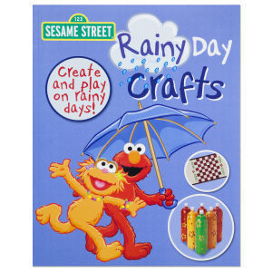123 Sesame Street Rainy Day Crafts-Get Creative inside when you can't play outsi