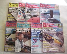 8)POPULAR MECHANICS MAGAZINES-1987 SCIENCE,TECHNOLOGY,AUTOMOTIVE,HOME,OU... - $23.99