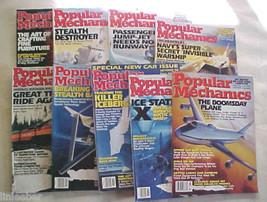 9)POPULAR MECHANICS MAGAZINES-1992-94 SCIENCE,TECHNOLOGY,AUTOMOTIVE,HOME... - $31.49