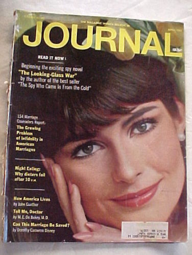 LADIES HOME JOURNAL-APRIL 1965-INFIDELITY;NIGHT EATING;HOW AMERICA LIVES;DOCTOR