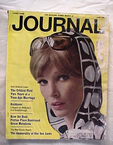 LADIES HOME JOURNAL-JUNE 1965-BALDNESS;SEX LAWS&IMMORALITY;1st 2 yrs of TEEN-AGE