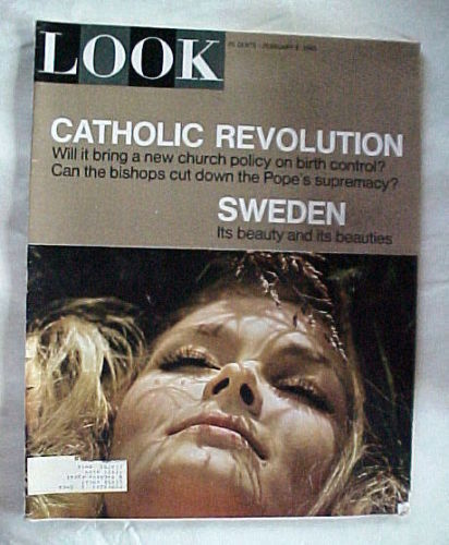 LOOK-FEB.9,1965-CATHOLIC REVOLUTION/BIRTH CONTROL/POPE'S SUPREMACY;SWEDEN BEAUTY