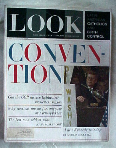 LOOK-JULY 14,1964-LATIN AMERICANS &BIRTH CONTROL;CONVENTION;GOP;KENNEDY PAINTING