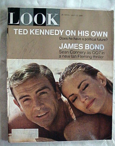 LOOK-July 13 1965-Ted Kennedy; Emile Gaugin;TED KENNEDY;JAMES BOND;SEAN CONNERY