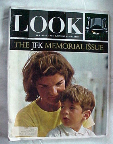 LOOK- NOVEMBER 17,1964-JFK MEMORIAL ISSUE/PAGES FROM A FAMILY ALBUM;JACKIE'S MEM