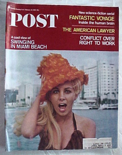 SATURDAY EVENING POST FEB.26,1966-INSIDE THE HUMAN BRAIN;AM.LAWYER;RIGHT TO WORK