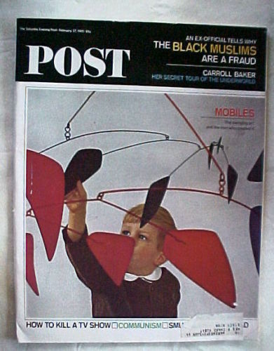 SATURDAY EVENING POST FEB.27,1965-WHY BLACK MUSLIMS ARE FRAUD ;MOBILES;COMMUNISM