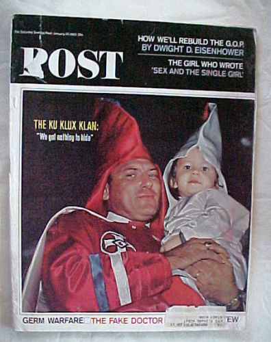 SATURDAY EVENING POST JANUARY 30,1965-Ku Klux Klan;IKE;Germ Warfare;FAKE DOCTOR