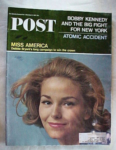 SATURDAY EVENING POST NOV.6,1965-MISS AMERICA;ATOMIC ACCIDENT;RFK&FIGHT FOR N.Y.