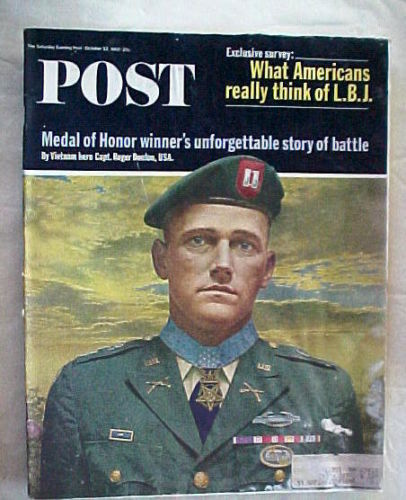 SATURDAY EVENING POST OCTOBER 23,1965-MEDAL OF HONOR;WHAT AMERICANS THINK OF LBJ