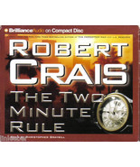 The Two-Minute Rule (Abridged,5 Compact Discs-6 HOURS)by ROBERT CRAIS-El... - $7.59