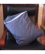 Embellished Queen Pillow Case Set - Stars (Blue & White)  - $18.00
