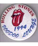 ROLLING STONES 1994 VOODOO LOUNGE Pinback  Button - $9.95
