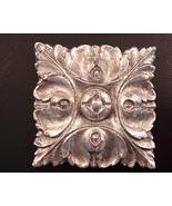 Magnet - Gilded Architectural Relief Design  - $5.00