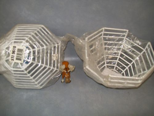 STI-9610 Wire Smoke Detector Cover w/ harware Lot of 2