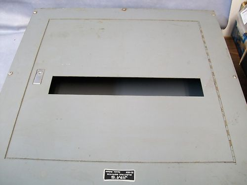 Square D 24 x 24 x 6 Enclosure Nema 1