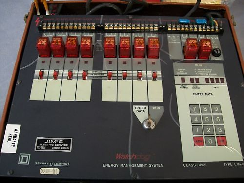Square D 8865 EM-8  Energy Management System Type EM-8