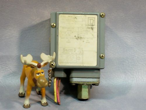 Square D 9012 GAW5 Pressure Switch 9012GAW5