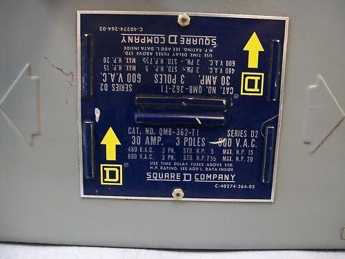 Square D QMB-363-T1 30Amp Panel Board