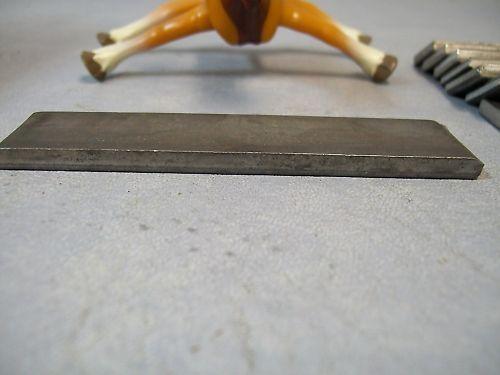 """Steel Flat 1"""" Wide  3 3/4"""" Long stock"""