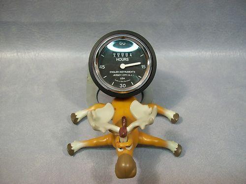 """Stemco - Engler V100V Hour Meter 2"""" round"""