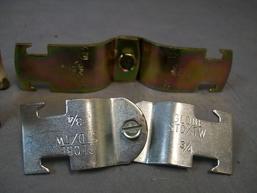 "Superstrut Pipe Clamps Lot of 22 sizes 3/4"" to  1 1/2"""
