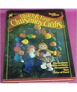 Book, Family Circle Quick & Easy Christmas Crafts - $8.00