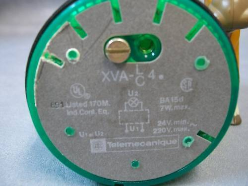 Telecanique XVA CA431 Indicating light - Green