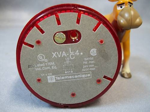 Telecanique XVA CA441  Indicating light - RED