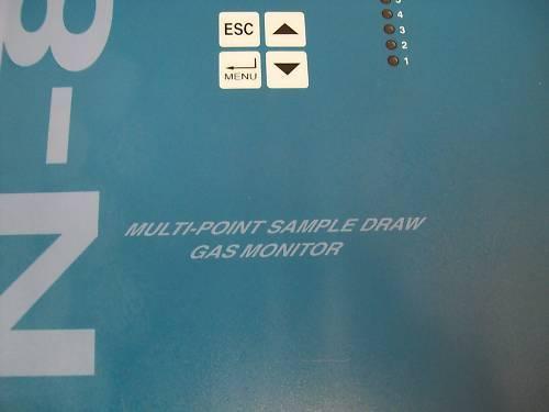 Vulcain VA-SQN-8X Multipoint Gas Monitor (3 Zone)