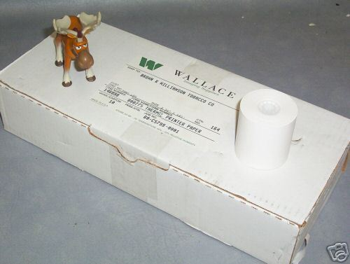 Wallace Thermal Printer Paper 146898 B08775 Qty 20