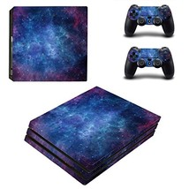 LLC Integral - Style Decal Cover for Sony Playstation 4 Slim PS4 (Blue Space) - $16.70