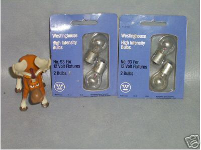 Westinghouse High Intensity  Lot of 8 Bulbs