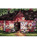 Paul Landry Antiques Barn Needlepoint Kit Quilt Collector  - $79.99