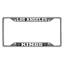 Fanmats NHL Los Angeles Kings Chrome Metal License Plate Frame Delivery 2-4 Days - $14.35