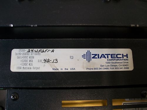 Ziatech Corp ZT200-24P2F1-A Computer Chassis